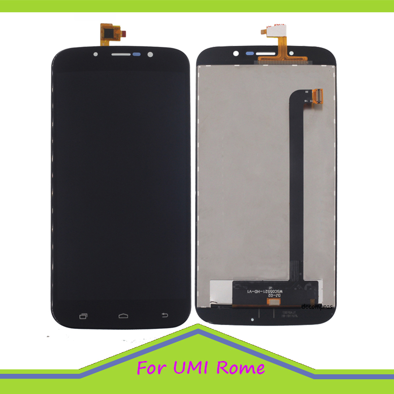 Original Quality LCD For UMI Rome Rome X LCD Display and Touch Screen Assembly perfect repair