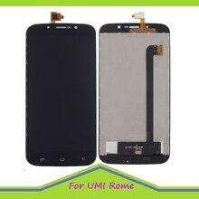 Original Qualität LCD Für UMI Rom/Rom X LCD Display und Touch Screen perfekte reparatur teil mit Freies werkzeuge
