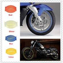 Модельки мотоциклов наклейка для колес светоотражающей аппликацией кромочную ленту для SUZUKI RM85 RM125 250 RMZ250 RMZ450 RMX250R S DRZ400R