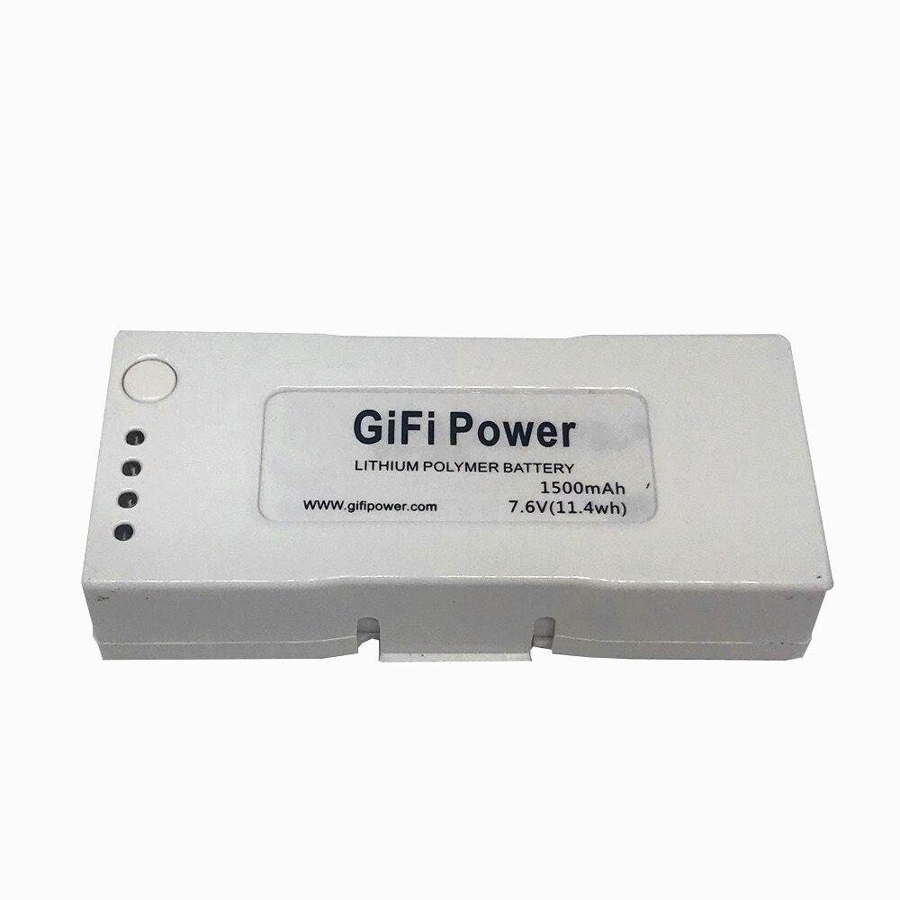 1 pièces 7.6V 1500mah RC Lipo batterie LiPo mise à niveau batterie pour ZEROTECH Dobby Drone-in Batteries rechargeables from Electronique    1