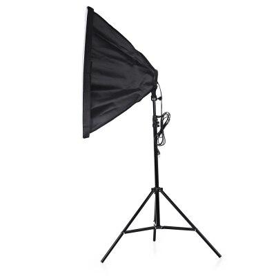 3 в 1 фотостудия комплект держатель ламп 4 осветительная стойка 2 м, 50x70 см софтбокс с бесплатной доставкой - 6