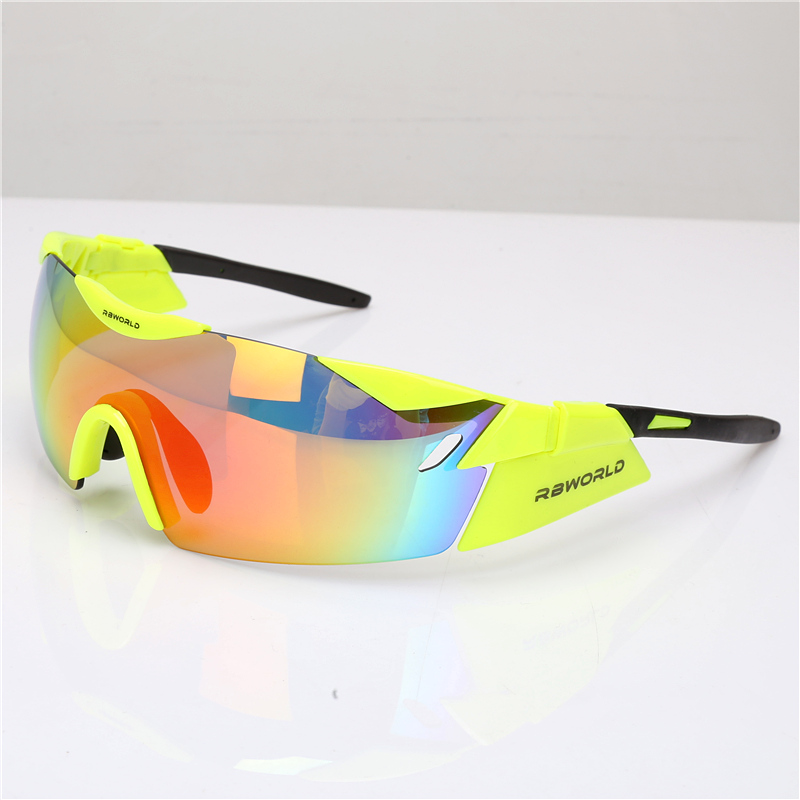 Bolle 3 Lens EV TR90 Sports Cycling Glasses Men Women MTB Mountain Road Bike Bicycle Cycling Eyewear Running Sunglasses Goggles