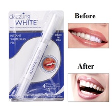 Hot 1/2PCS Dental Teeth Whitening Tooth Cleaning Rotary Peroxide Bleaching Kit Dazzling White Pen Tools