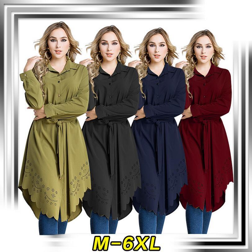 buy online 74703 e5808 US $24.53 15% di SCONTO|Donne Camicia Lunga musulmana Abaya Stile Sciolto  Abito Tunica Jubah Ramadan Arabo Turco Abbigliamento Islamico più il  formato ...