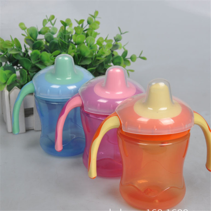 New Soft Mouth Duckbill Sippy Infant Training Baby Feeding Bottles Cups For Babies Brand Baby Feeding Bottle Kids Water Bottle