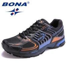BONA New Arrival Popular Style Men Running Shoes Outdoor Jog