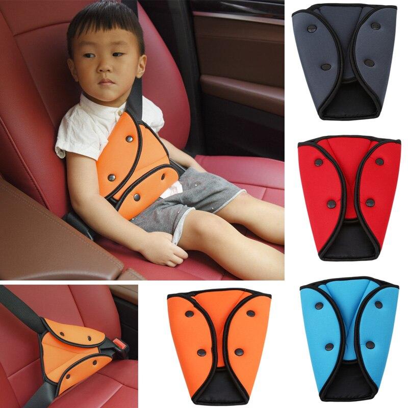 Car Safe Fit Seat Belt Sturdy Adjuster Car Safety Belt Adjust Device Triangle Baby Child Protection Stroller Baby Safety защитный детский шлем