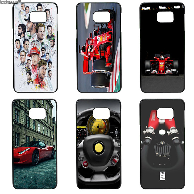 huge selection of ff614 77e0f US $4.89 |Sebastian Vettel Scuderia Ferrari Phone Cases Hard PC Cover for  Samsung Galaxy S8 S9 Plus S3 S4 S5 Mini S7 S6 Edge Plus Active-in ...