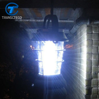 Camping Lantern Outdoor Tent Lamp Hand Crank Solar light 36 LEDs 3 Modes Lighting Rechargeable