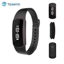 Водонепроницаемый SH09 Bluetooth 4.0 Smart Браслет монитор сердечного ритма Спорт Смарт Браслет фитнес-трекер для Android IOS Телефон
