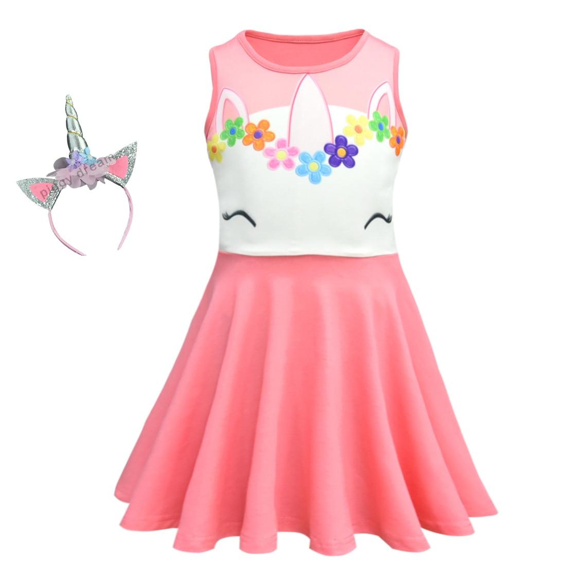 86aae0bdc1b3 Kids Dresses for Girls Unicorn Dress Costume Birthday Party Dress 2019  Girls Dress Summer Princess Children Clothes Vestidos-in Dresses from  Mother & Kids ...