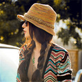 Free Shipping Brand New beach hats for women sombreros women summer hat,girl big bongrace sunhat folded travelling hat