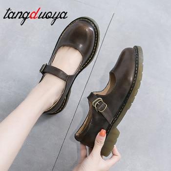 босоножки sweet shoes sweet shoes sw010awesyy8 Japanese School Students Uniform Shoes Uwabaki JK Round Toe Buckle Trap Women Girls Lolita Cosplay shoes sweet lolita shoes