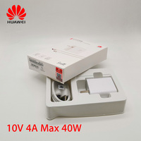 Original Huawei Supercharge charger Mate 20 pro RS P20 P30 pro super charging 10V 4A 40W Adapter Honor Magic 2 view 20
