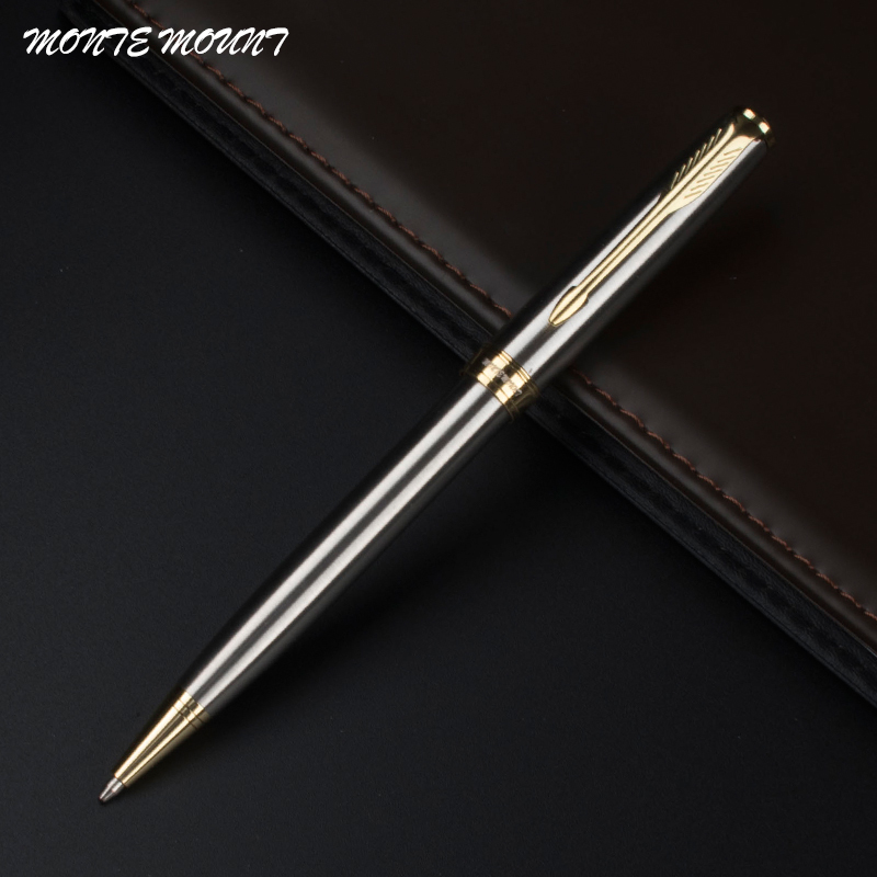 $7.65 FOR 3 PIECES MONTE MOUNT Ballpoint Pen Metal Gold Writing Pens Executive Stationery School Office Supplies the Ball Pens