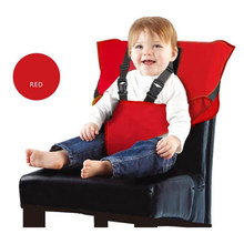 Portable Baby Dining Chair Children Booster Seats Feeding High Chair Traveling Baby Seat Pad Heightening Cushion Seat Product(China)