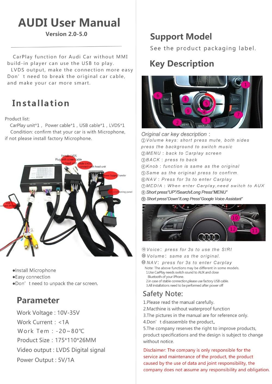 Audi MMI User manul