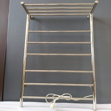 Stainless steel 304 electric heated towel rail bthroom wall mounted warmer PROMOTIONS HZ-915A