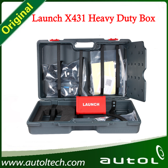 Launch X431 Heavy Duty Truck Module Diagnostic Tool For 12V/24V Diesel Engine works for X431 V+/X431 PRO3/ X431 PAD II