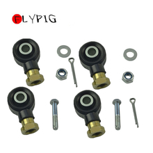 FLYPIG Right Left Tie Rod End Kit for Polaris Sportsman 500 Ho 2006-2012 2Sets ATV Quad Dirt Pit Bike ATV Parts & Accessories tiptop new carburetor for polaris sportsman 500 4x4 ho 2001 2005 2010 2011 2012 carb sep 7