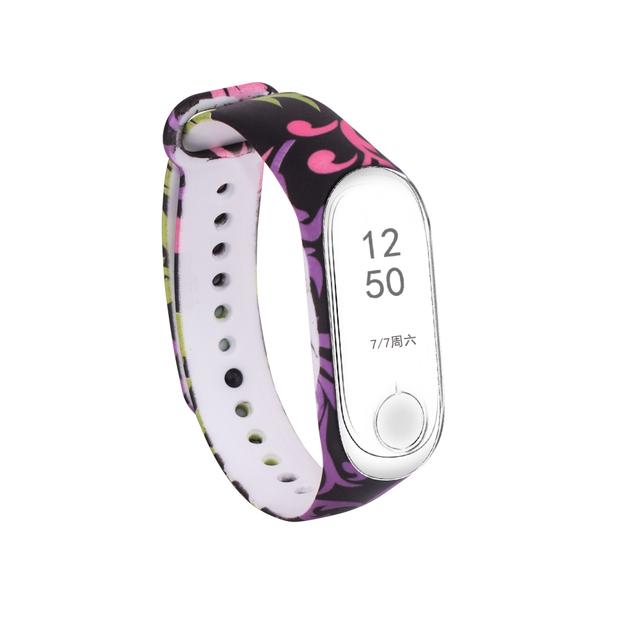 For Xiaomi Mi 3 Branches Bracelet Band 3 Sport Strap watch Silicone