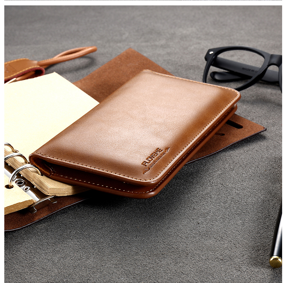 FLOVEME Genuine Leather Wallet Case For iPhone 6 6S 7 Plus Cover Multi-function Vintage Luxury Phone Pouch For Samsung S6 S7 (19)