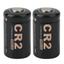 Recarregável plus Case para Soshine em Estoque! 2 PCS CR2 3.0 V 1000 MAH Protegido Bateria Mais Novo