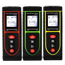 Handheld Mini Digital laser distance Meter LCD trena laser Tape measure Diastimeter tester tool 40M 50M 60M Laser Rangefinder