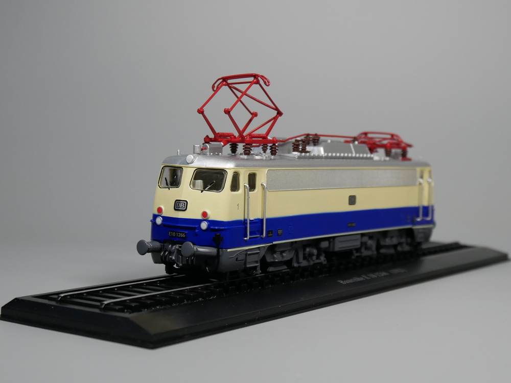 Ho scale model Atlas 1:87 Train Baureihe E 10 1266 1962 Diecast model Train