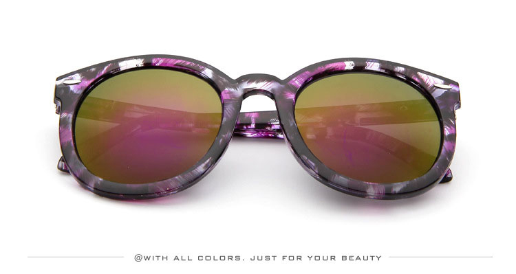 HTB1jmv2SXXXXXXsXFXXq6xXFXXXQ - Marbling Sunglasses Women Round Frame PTC 268