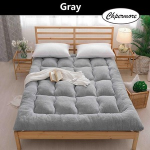 Image 5 - Chpermore Thicken Lamb cashmere Mattress Single double Student Mattresses Foldable Tatami Cotton Cover King Queen Size