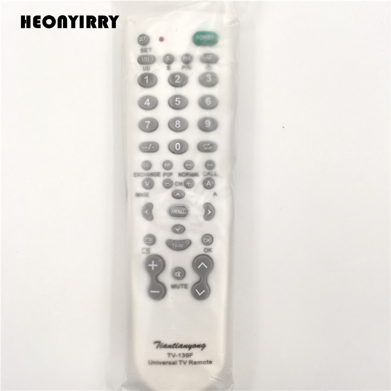 Universal TV Remote Control Wireless Smart Controller Replacement Super Version Remote Control TV-139F For Smart TV CBL DVD universal tv dvd vcd remote controller 2 aa