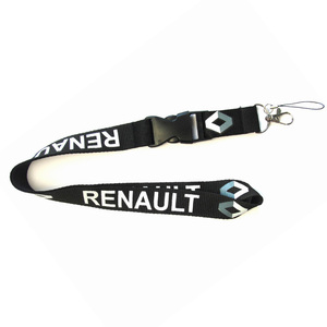 Lanyards for Renault Laguna Koleos Scenic Laguna 2 Neck Strap Lanyard Detachable Car Logo ID Work Card Cell Phone Hang Rope(China)