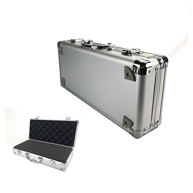 Toolbox Aluminum Tool Box Portable Instrument Box Storage Case Suitcase Hardware Equipment Camera Instrument Case With Foam