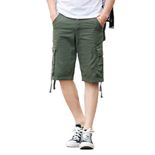 SexeMara 2017 New Loose Summer Men Casual Shorts Classic Fashion Overall Trousers 002