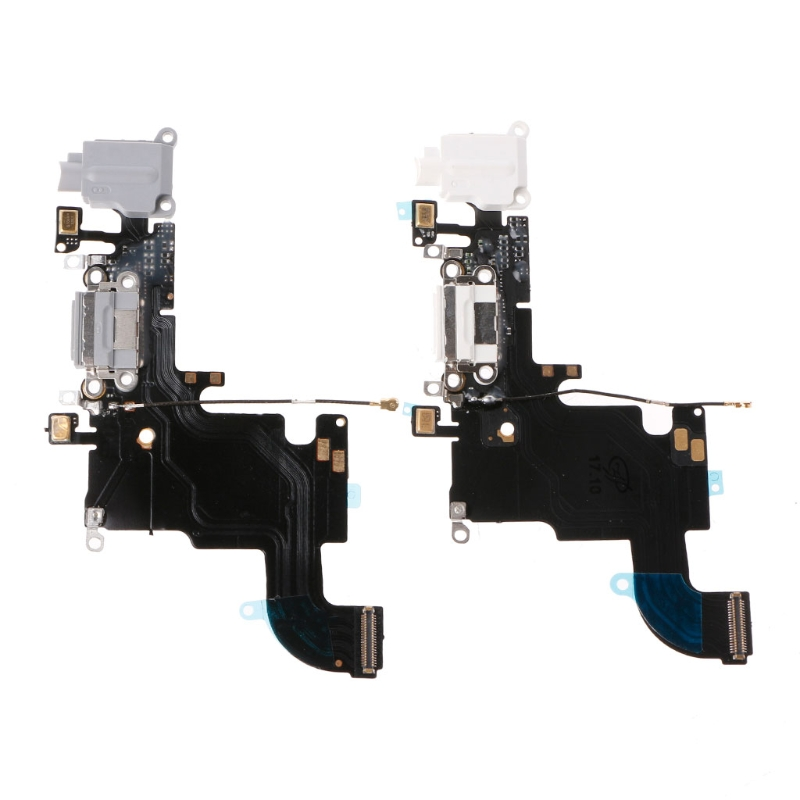 New USB Charging Port Connector Mic phone Earphone Jack Flex Cable Parts For iPhone 6S(China)