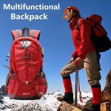 Brand New 40L Outdoor Travel Backpack Camping Climbing Bag Waterproof Mountaineering Hiking Backpacks Molle Sport Bag Rucksack