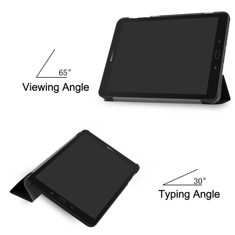 Para Samsung Galaxy TAB S3 9,7 SM T820 T825 Flip de cuero de la PU caso cubierta Tablet para Samsung galaxy Tab S3 9,7'