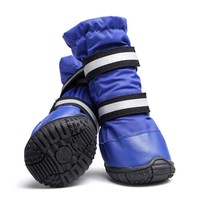 High Quailty Pet Dog Winter Warm Shoes Puppy Waterproof Windproof Boot for Rain Day Soft Durable Small Medium Large Dog Shoes Y