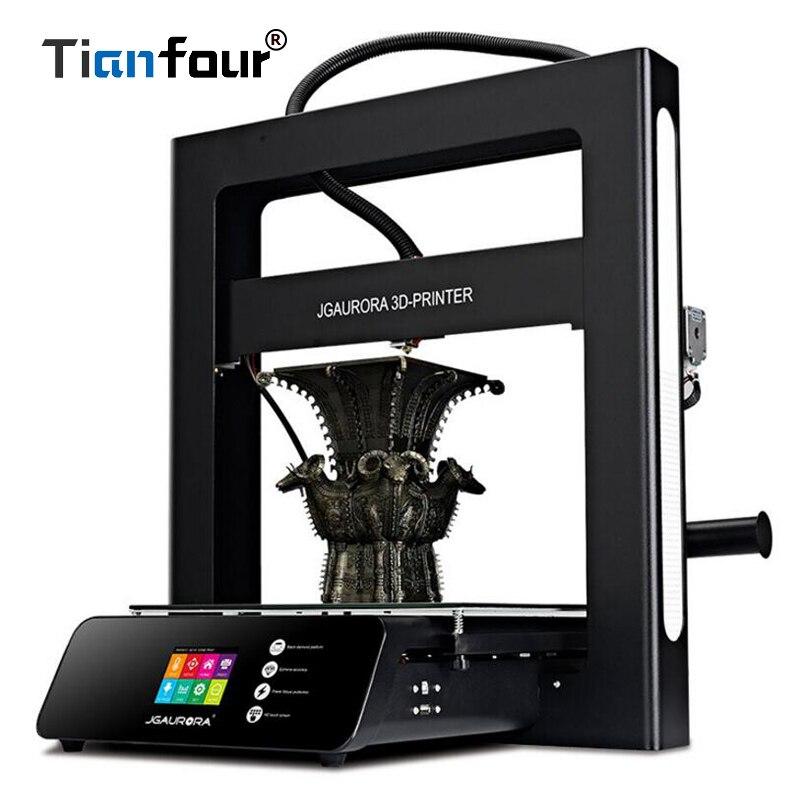Tianfour 3D Imprimante T5 Mise À Jour 3D Machine D'impression Extrême Haute Précision Imprimante Machine avec Grande Taille de Construction de 305 * 305*320mm