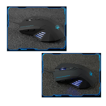 New Silent Frosted Ergonomics 2400dpi Adjustment USB 6D Wired Optical Computer Gaming Mouse for Computer PC Laptop for Dota 2