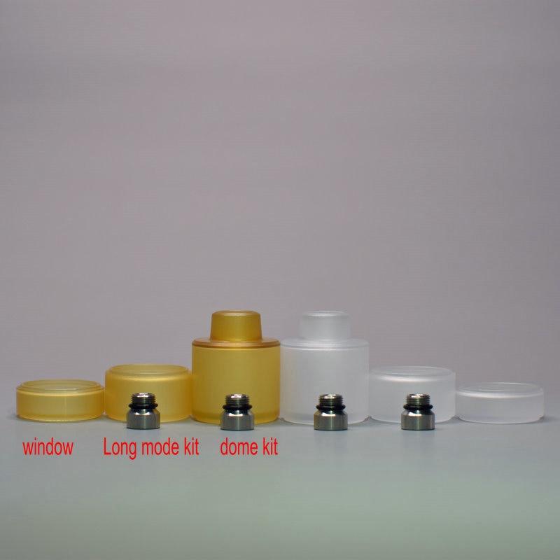 Kayfun Lite 2019 22mm Replacement Window Long Mode Kit Dome Extension Kit Accessories