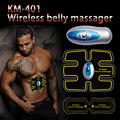 Elétrica sem fio Unidade de Eletroterapia Massageador TENS Dor Nas Costas Alívio ABS Ajuste Massageador Estimulador Muscular
