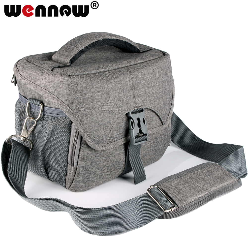 wennew gray Waterproof DSLR SLR Camera Bag cover Case for Canon EOS Rebel SL3 SL2 T100 T7 T7i T6i T5i T6s T6 T5 T4i T3i T3 T2i image
