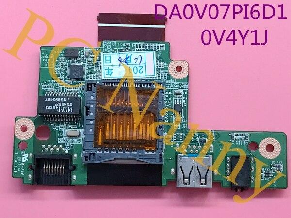 For Dell Vostro 3360 USB BOARD audio board ethernet board sd reader 0V4Y1J DA0V07PI6D1 V4Y1J набор мастер iq жидкий свет