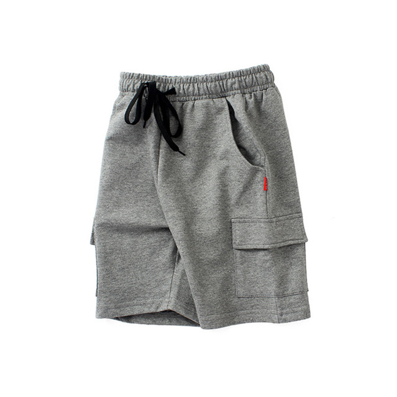 VIDMID chidren's clothes boys shorts solid thin cotton baby boy beach shorts for kids big boys casual trousers 4102 09 4