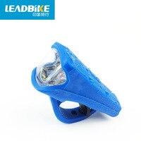 LEADBIKE Usb зарядка велосипед передний свет силиконовый материал фонарик для велосипеда набор Bicicleta аксессуары Велоспорт + батарея 789