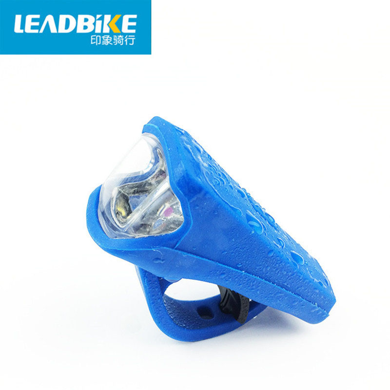 LEADBIKE <font><b>Usb</b></font> Charging <font><b>Bike</b></font> Front <font><b>Light</b></font> Silicone Material Flashlight for Bicycle <font><b>Set</b></font> Bicicleta Accessories Cycling + battery 789 image