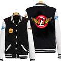Lol SKT T1 UNISEX informal de manga larga de béisbol chaqueta del traje de Cosplay
