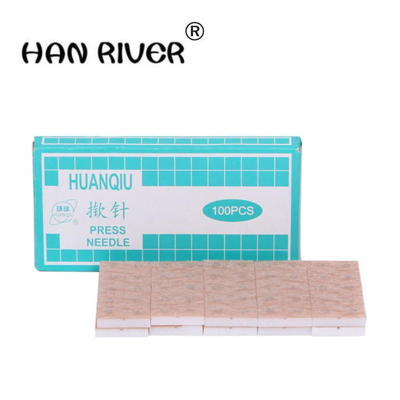 100pcs/box High Quality Acupuncture Needles Disposable Acupuncture Press Needles For Ears Skin 0.2*1.5mm Accupuncture     - title=